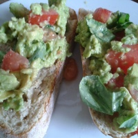 Tasty lunch idea - Avocado on Sourdough Bread