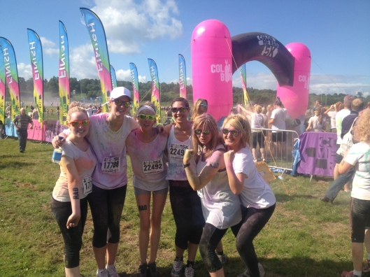 Color me Rad finish line