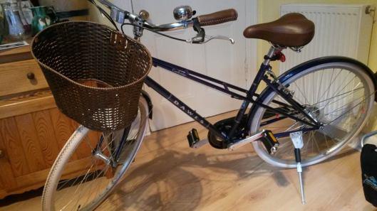 a lady bike