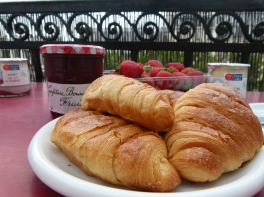 Croissants in Paris