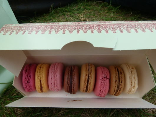 macarons from Laudree